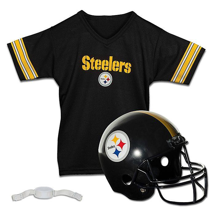 df9def43 NFL Pittsburgh Steelers Kids Helmet/Jersey Set | Bed Bath & Beyond