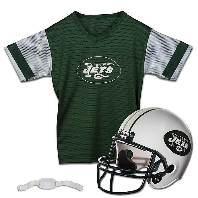 1680ed851e8 NFL New York Jets Kids Helmet/Jersey Set | Bed Bath & Beyond