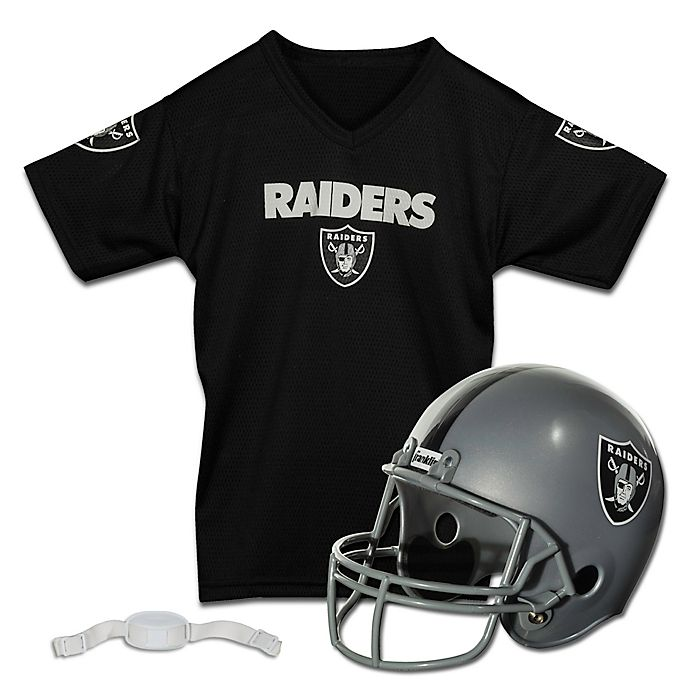 separation shoes 4d5b4 5c484 NFL Oakland Raiders Kids Helmet/Jersey Set | Bed Bath & Beyond