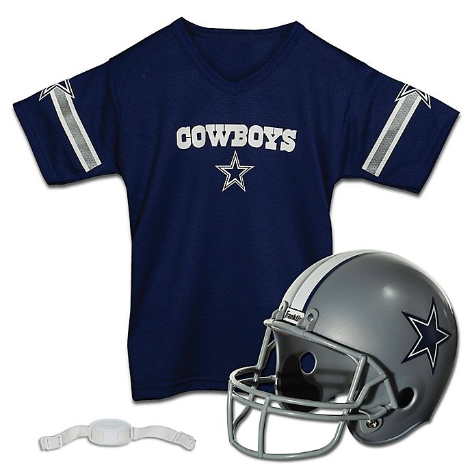 00d75933 NFL Dallas Cowboys Kids Helmet/Jersey Set | Bed Bath & Beyond