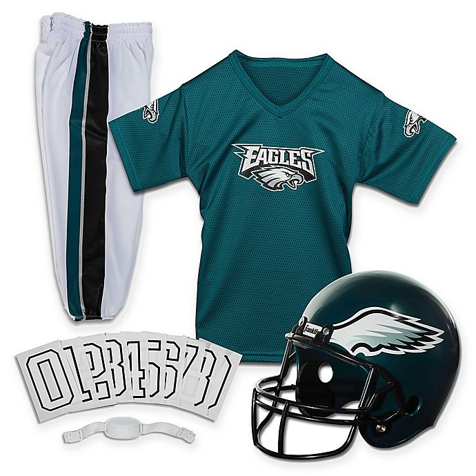 detailed look 058ec 0a61a NFL Philadelphia Eagles Youth Deluxe Uniform Set | Bed Bath ...