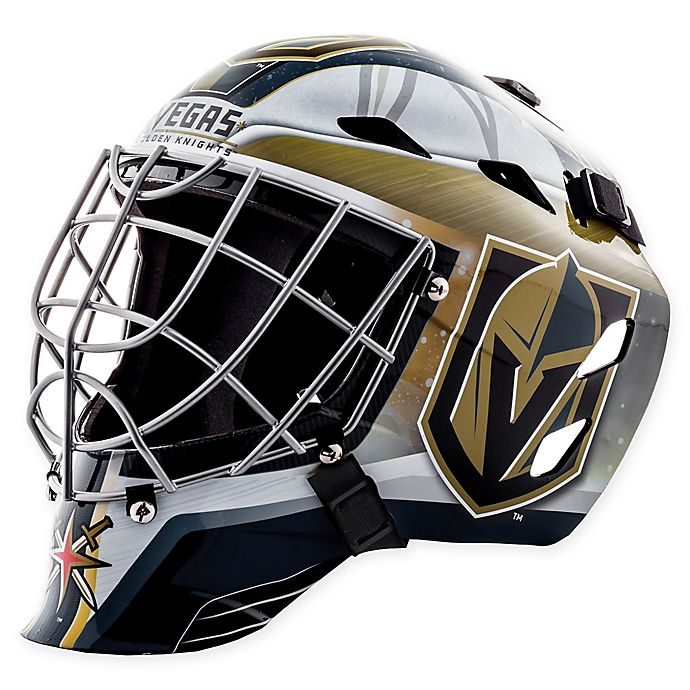 Nhl Vegas Golden Knights Gfm 1500 Youth Street Hockey Face Mask