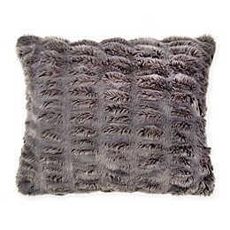 Wamsutta® Vintage Puckered Fur Throw Pillow