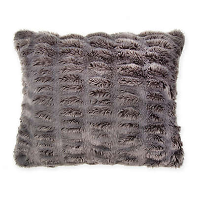 Wamsutta® Vintage Puckered Fur Throw Pillow