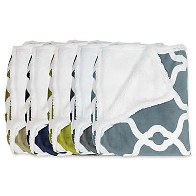 Kensie Esy Sherpa Throw Blanket