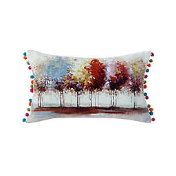Kensie Willow Tree Oblong Throw Pillow Cover