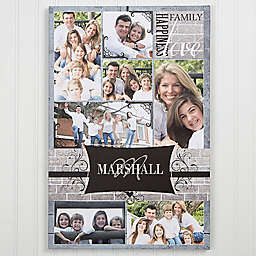 Family Photo Memories Canvas Print Wall Art Collection