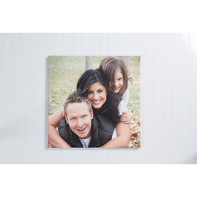 Alternate image 1 for Photo Memories Square Canvas Print Wall Art