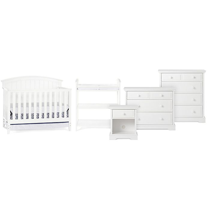 Alternate image 1 for Child Craft™ Delaney Nursery Furniture Collection in Matte White