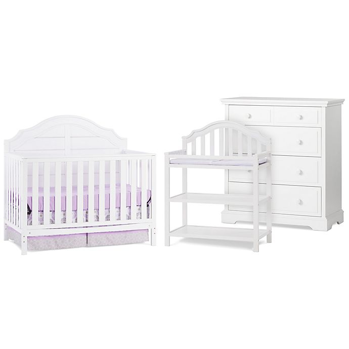 Alternate image 1 for Child Craft™ Penelope Nursery Furniture Collection in Matte White