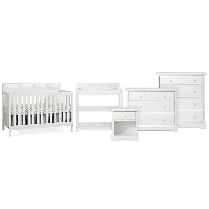 Alternate image 1 for Child Craft™ Elin Baby Furniture Collection in Matte White