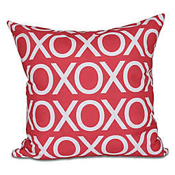 Valentine Square Throw Pillow