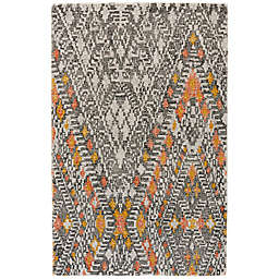 Feizy Baltum 8-Foot  x 11-Footh Hand-Tufted Area Rug in Tangerine