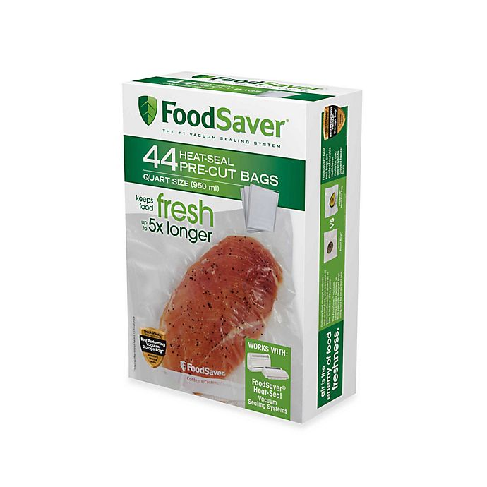 Alternate image 1 for FoodSaver® Pack Vacuum Packaging Bags and Rolls