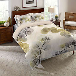 Laural Home® Smoky X-Ray of Eucalyptus Leaves Duvet Cover
