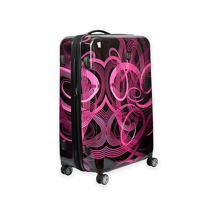 Alternate image 1 for ful® Atomic 20-Inch Hardside Spinner Carry On Luggage in Pink