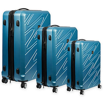 Ful® Scribble Rolling Luggage in Carolina Blue
