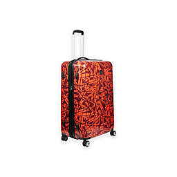 Ful® Grunge Rolling Luggage in Red