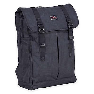 Ben Sherman 15-Inch Heather Computer Backpack in Navy