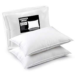 Shaper Image® Jumbo Ultra-Feather Bed Pillows (Set of 2)