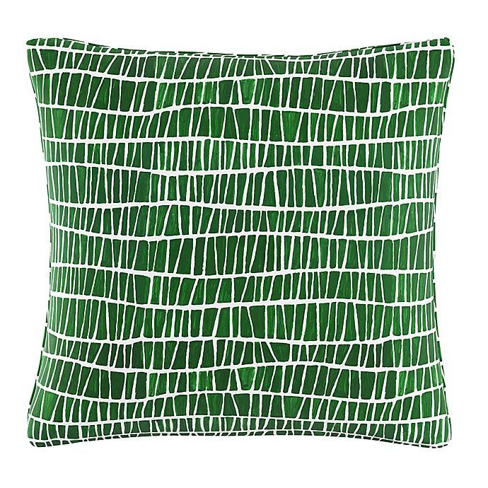 Alternate image 1 for Cloth & Company Mesh Pattern Throw Pillow in Objects Green
