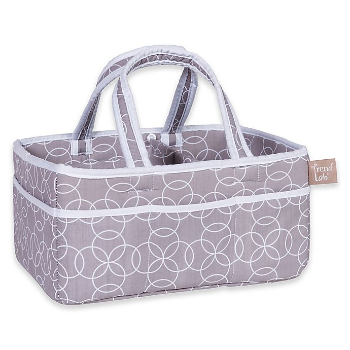 Alternate image 1 for Trend Lab® Circles Diaper Caddy