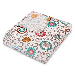 Waverly® Baby by Trend Lab® Pom Pom Play Plush Throw Blanket