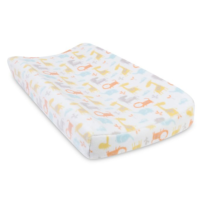 Trend Lab 174 Crayon Jungle Changing Pad Cover Buybuy Baby