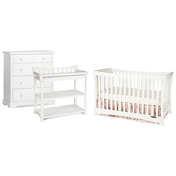 Alternate image 1 for Child Craft™ Parisian 3-in-1 Nursery Furniture Collection in White