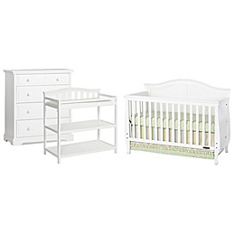 Child Craft™ Camden Nursery Furniture Collection Crib in White