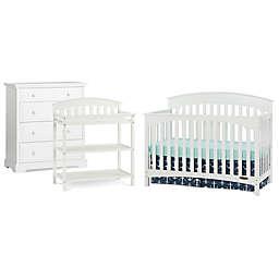 Child Craft™ Wadsworth Nursery Furniture Collection in Matte White