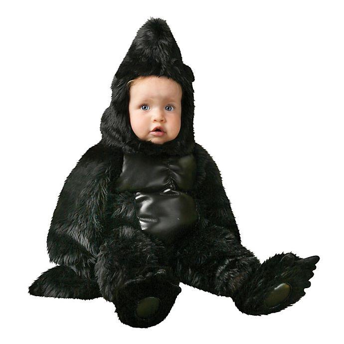 Alternate image 1 for Baby Gorilla Child's Halloween Costume in Black