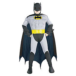 Batman with Chest Muscles Child's Halloween Costume