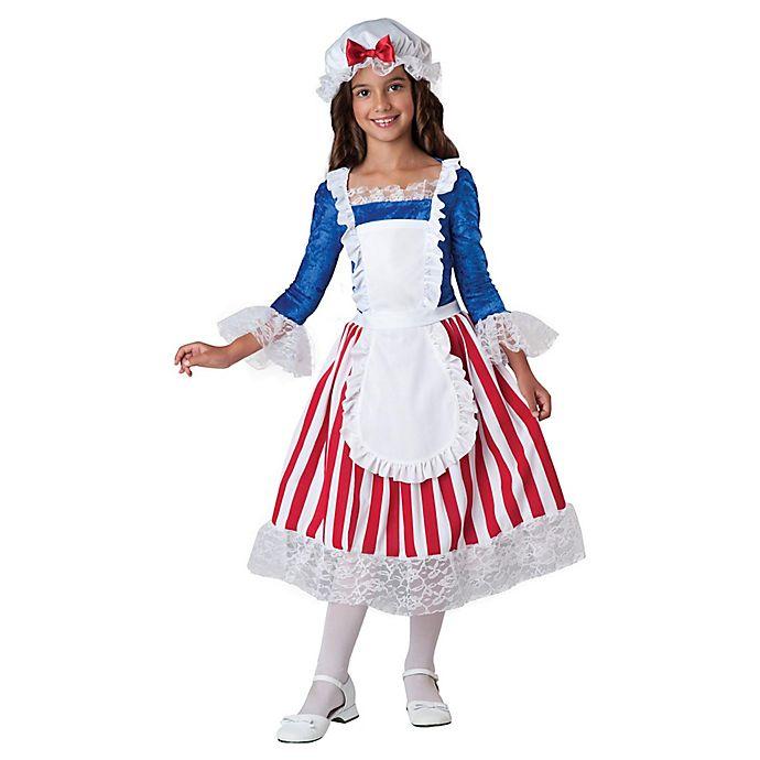 Alternate image 1 for Betsy Ross Child's Halloween Costume