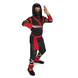 Black and Red Ninja Child's Halloween Costume