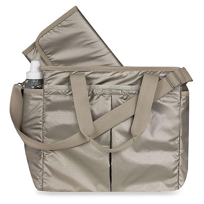 Lesportsac Ryan Diaper Bag Pearl