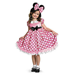 Minnie Mouse Glow In The Dark Dot Dress Child's Halloween Costume