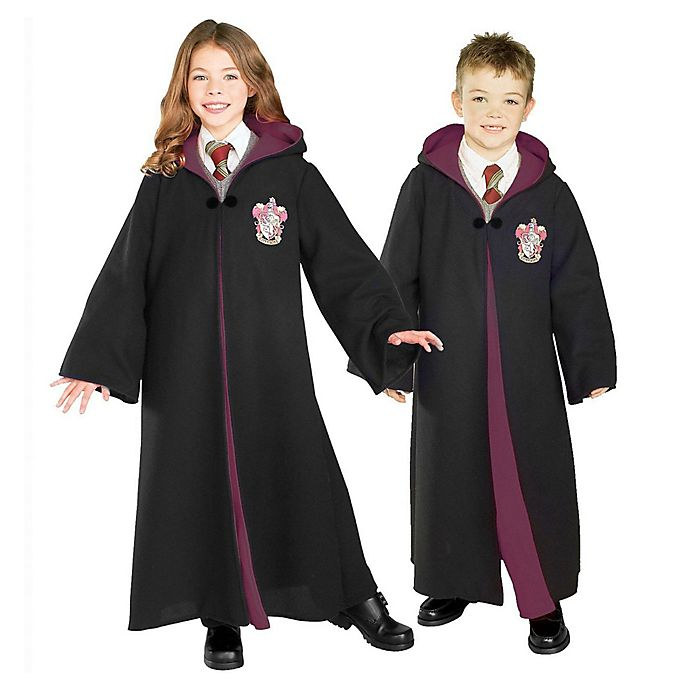 Alternate image 1 for Harry Potter™  Deluxe Gryffindor Robe Child's Halloween Costume