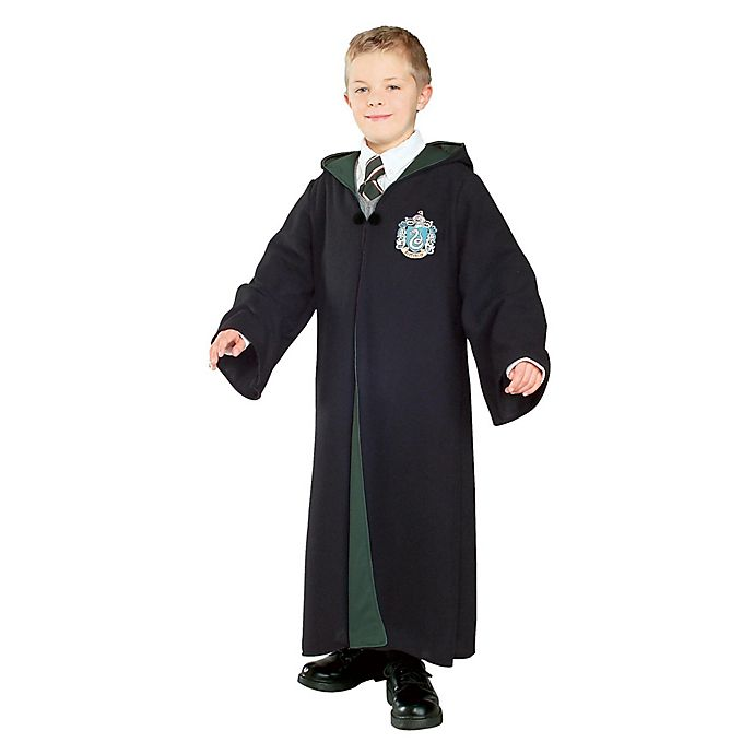 Alternate image 1 for Harry Potter™ Deluxe Slytherin Robe Child's Halloween Costume