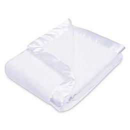 Trend Lab® Plush Baby Blanket in White