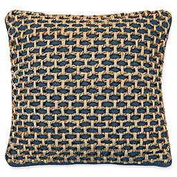 Boho Living Jada Square Throw Pillow in Indigo