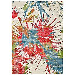 Feizy Girasole Mango Splash 5-Foot x 8-Foot Multicolor Area Rug