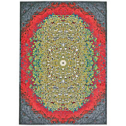 Feizy Girasole Medallion 8-Foot x 11-Foot Multicolor Area Rug