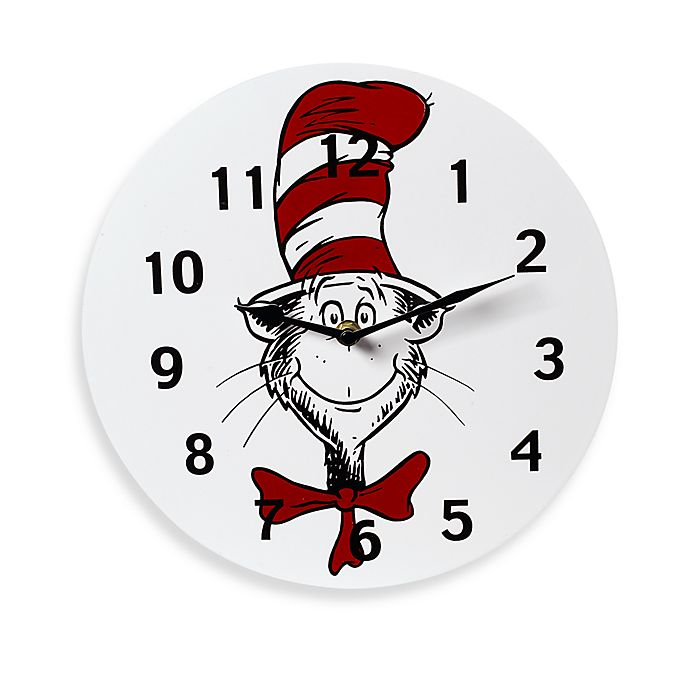 Trend Lab 174 Dr Seuss Cat In The Hat Wall Clock Bed Bath