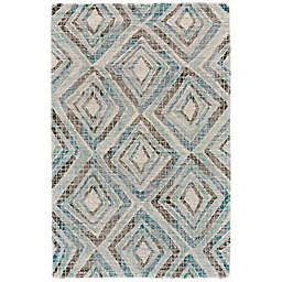 Feizy Cavel Baltum Concentric Diamonds Rug