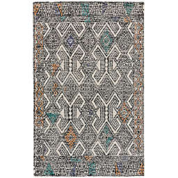 Feizy Cavel Baltum Diamond Border Rug