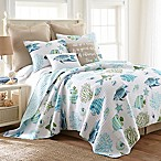 Levtex Home Breakwater Twin Quilt in White/Blue