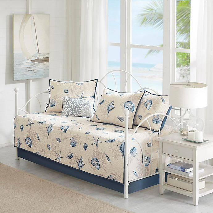 Alternate image 1 for Madison Park Bayside Daybed Set in Blue