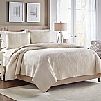 Croscill® Heatherly Reversible Full/Queen Quilt in Ivory