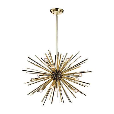 Diamond Lighting Starburst 12-Light Pendant